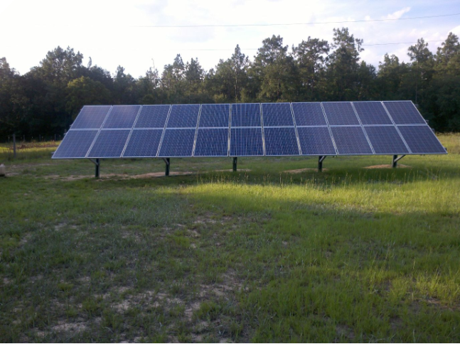 Ground mount 5 39 kw in cantonment fl